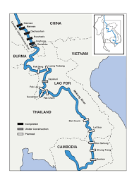 Map Of China Rivers by The Lower Mekong Dams Factsheet Text International Rivers