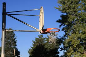 outdoor basketball hoop picture free photograph photos public