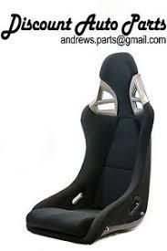 porsche gt3 ebay porsche 997 style gt3 seats in black cloth w black frp backing