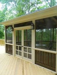 Backyard Porches And Decks by Wonderful Screened In Porch And Deck Idea 26 Porch Decking And