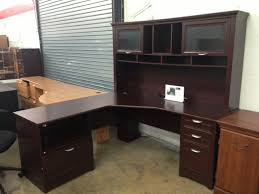 realspace magellan l shaped desk realspace magellan l shaped desk gorgeous wooden with hutch plus