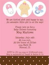 baby shower invite wording invitation for baby shower fascinating baby girl shower invitation