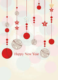 New Year Greetings Decoration by New Year Greeting Card Royalty Free Stock Photo Image 32911935