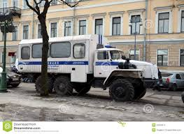 police truck police truck prisoner transport vehicle editorial photo image