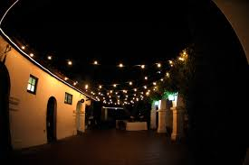 Clear Patio String Lights Decoration Outdoor String Light Sets Globe Lights Big