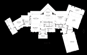 House Plans For A View Mascord House Plan 2466 The Brunswick