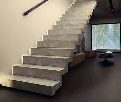 gerade treppe gerade treppe betonstufe mit setzstufe modern konkret kozac