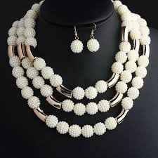 handmade necklace with beads images Vivilady fashion african handmade beads layer jewelry sets women jpg