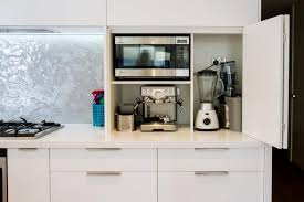 how to manage arrangement of small kitchen appliances small