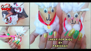 diy sheep craft fun craft project for kids how to create a