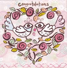 birds u0026 heart congratulations card karenza paperie