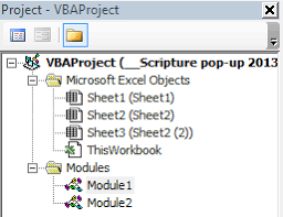 prevent vba written for one excel workbook from affecting other