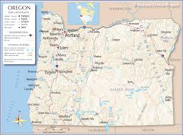 map of oregon state fairgrounds reference map of oregon usa nations project
