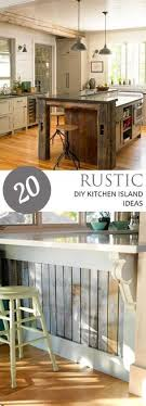 pinterest kitchen island rustic homemade kitchen islands 13 idei casa pinterest
