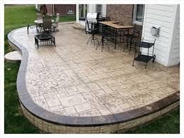 Concrete Patio Bench Patio Concrete Patio Contractor Home Interior Design