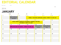 editorial calendars perspectives from industry experts