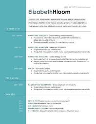 Modern Word Resume Templates Chic Inspiration Modern Resume 1 52 Modern Resume Templates In