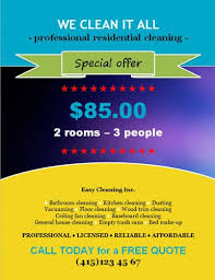 fliers templates 14 free cleaning flyer templates house or business house cleaning