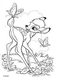 discover amazing coloring bambi disney movie