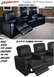 home theater seats htchairs com real leather home theater seating h t chairs