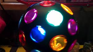 disco light bulb home depot cfl disco ball took original tiny bulb out youtube