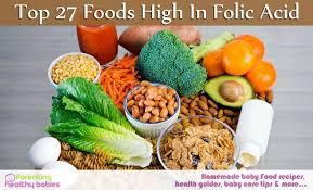 27 food rich in folic acid
