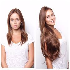 24 inch extensions before and after bellami hair our model is wearing magnifica 240