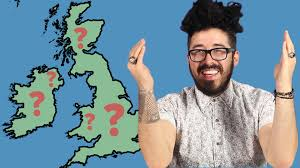 Labeled Map Of Europe Americans Try To Label The British Isles Youtube
