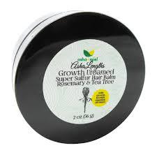 growth untamed super sulfur hair balm rosemary u0026 tea tree hair