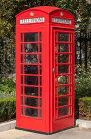 telephone booth telephone box