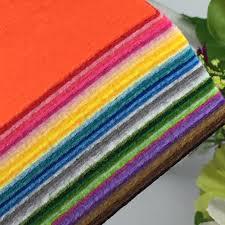 40colors pure color polyester felt fabric cloth diy handmade