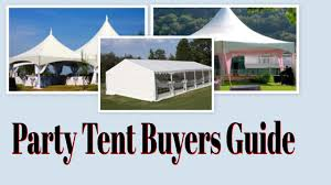 Canopy Tent Wedding by Party Tent Buyers Guide Outdoor Party Tents Wedding Tents