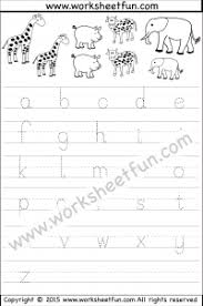 alphabet tracing free printable worksheets u2013 worksheetfun