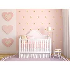 d orer chambre fille stickers pois or stickers bébé chaton et chambres