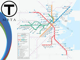 South Station Boston Map by The Mbta Map By Madkowdzs On Deviantart