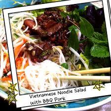salad recipe vietnamese noodle salad w coconut lemongrass bbq