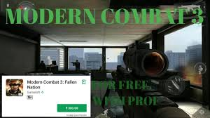 modern combat 3 apk free how to modern combat 3 fallen nation for free in android