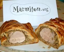 marmiton recette cuisine filet mignon filet mignon de porc façon wellington recette de filet mignon de