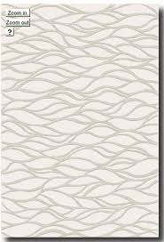 Modern Rugs Toronto This Area Rug From The Botero Collection Has A Subtle Wave Pattern