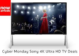 sony tv black friday deal preparing for cyber monday sony 4k ultra hd tv deals 2014 black