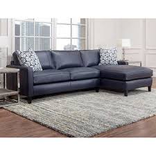 Navy Sectional Sofa Navy Blue Leather Sectional Sofa Home Furniture Design Ideas
