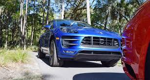 porsche macan turbo 2016 kiawah 2016 highlights 2016 porsche macan turbo in sapphire blue
