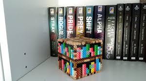 3d Bookshelf 3d Minecraft Bookshelf By Littlekhajiit On Deviantart