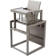 bureau et chaise pour bébé trendy chaise haute transformable quax provence en petit bureau