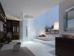 recessed ceiling shower head square rain with built in light