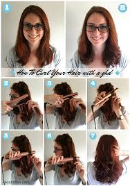 tuesday tips how to curl your hair with a ghd ghd flat iron