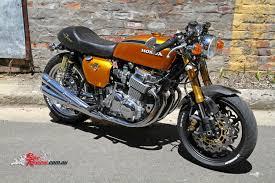 honda 750 classic custom cb750 four bike review