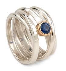 silver coloured rings images Onefooter series doroth e rosen designer goldsmith jpg