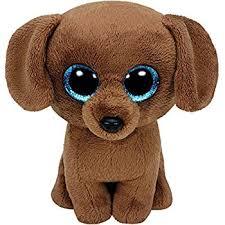 amazon ty beanie babies tucker brown dog plush toys u0026 games