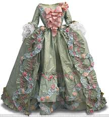 no stitching required 18th century dress glue painting and